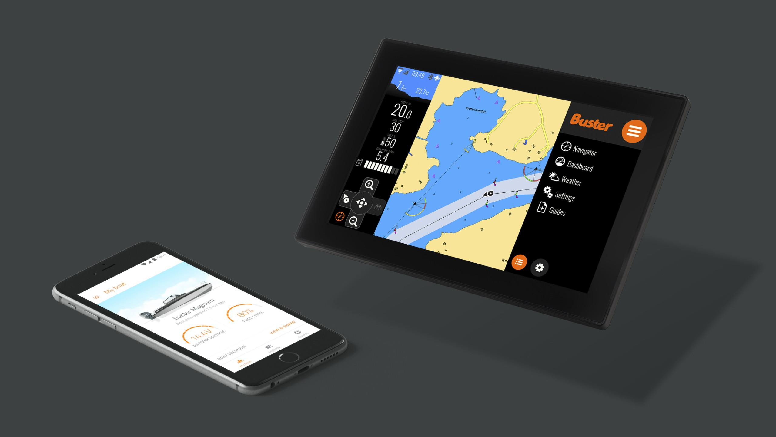 Buster Boats launches the first ever Q-based mobile app
