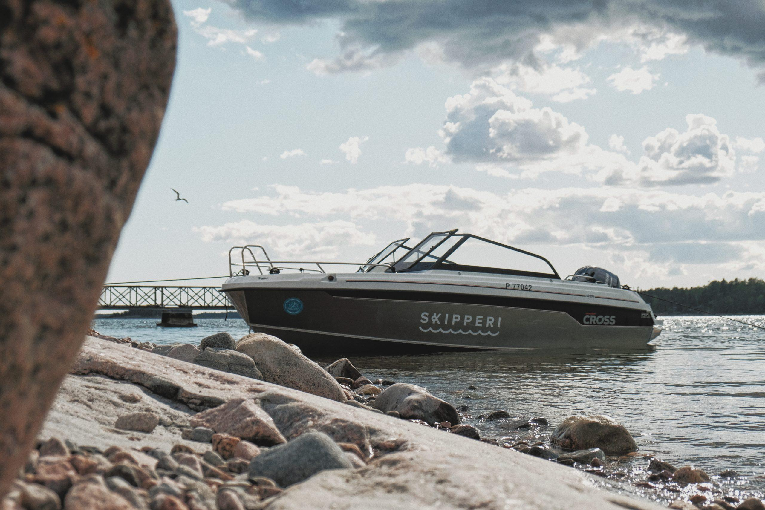 Q plotters in all Skipperi motorboats in 2020 – Smart boating for all