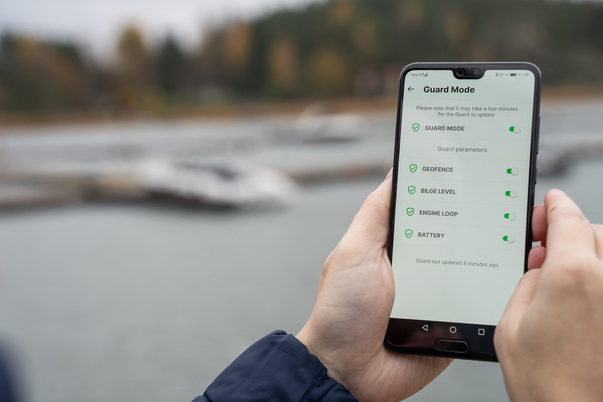 Q Boat Guard – Antitheft alarm for Q Series 2 Displays